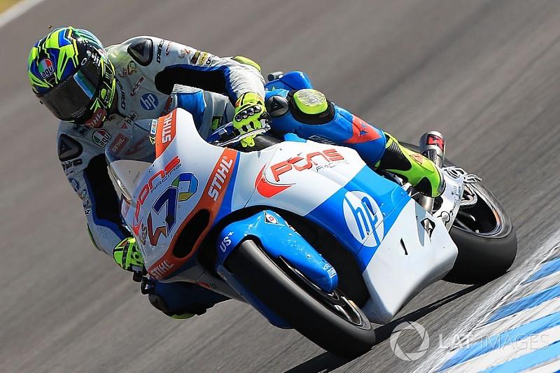 Moto2スペイン決勝:バルダッサーリ盤石の優勝。長島13位で今季初入賞