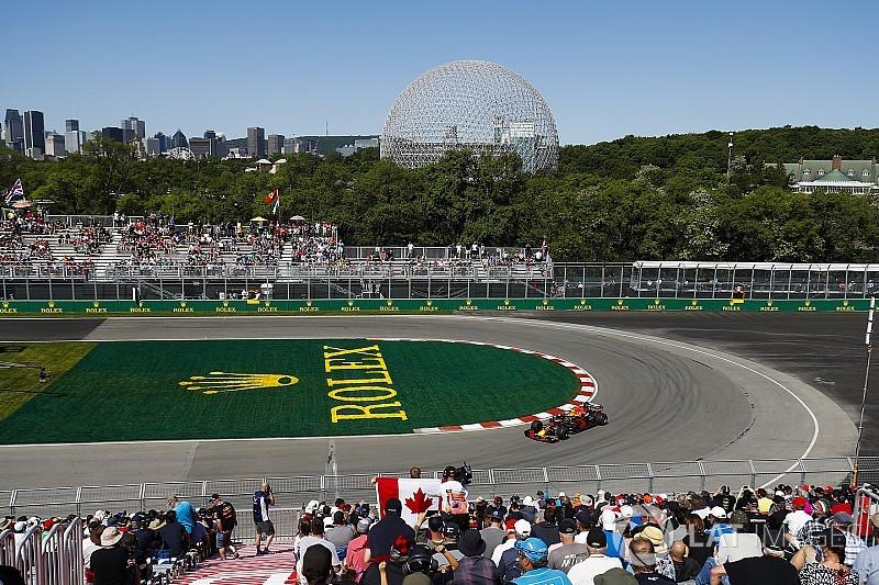 Verstappen ook snelste tijdens tweede training in Canada