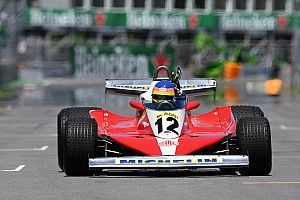 Villeneuve destaca som de motor 12 cilindros em carro do pai