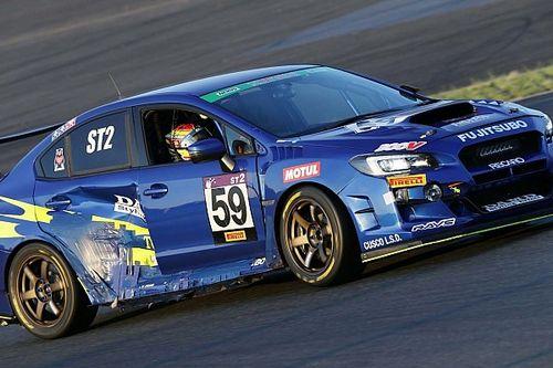 ボロボロになっても走り続けた59号車WRX STI、井口卓人「ベストメカニック賞をあげたい」