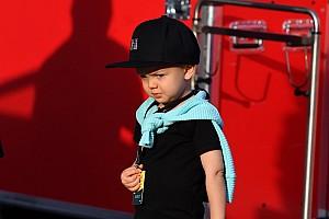 Raikkönen kisfia megkapta az első gokartját