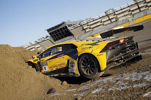 Fotogallery: la Lamborghini di Palma dopo il botto del Motor Show