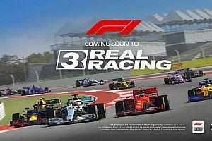 Формула 1 появится в мобильной игре Real Racing 3