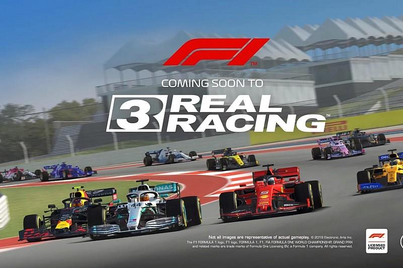 Формула 1 в Real Racing 3: геймплей и новые подробности
