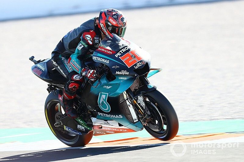 MotoGP, Test Valencia, Giorno 1: Quartararo nel tris Yamaha