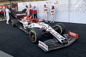Alfa Romeo unveils livery for 2020 F1 season