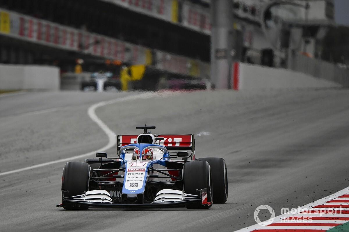 Russell gana en Bakú con podio de Gutiérrez en el debut de Pérez