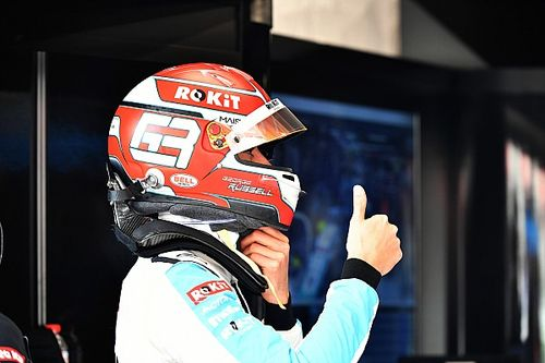Late penalty for Leclerc hands Russell maiden Virtual GP win