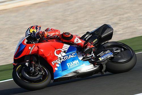 Miller reed in Thailand al met verstelbare rijhoogte op Ducati