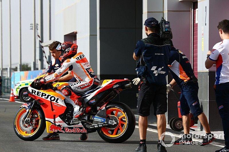 Marquez, Honda'nın Katar'daki performansından endişeli
