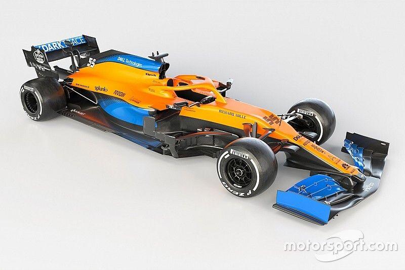 McLaren представила новую машину MCL35