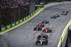 El vuelta a vuelta animado del intenso GP de Brasil
