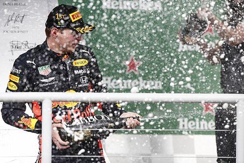 """F1 krijgt aangepast podiumritueel: """"Kunnen geen bekers uitreiken"""""""