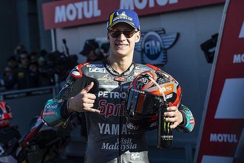 Valencia MotoGP: Quartararo takes sixth pole by 0.032s