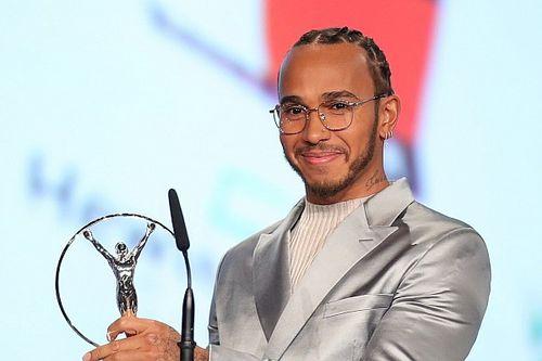 """Hamilton miglior sportivo dell'anno: """"Devo tutto a Lauda"""""""