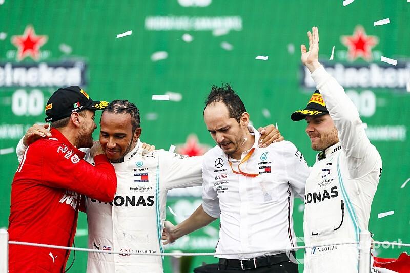 GALERIA: Veja como terminou o GP do México de F1
