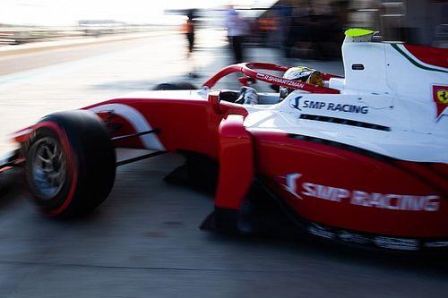 Шварцман показал второе время во второй день тестов Ф2 в Абу-Даби