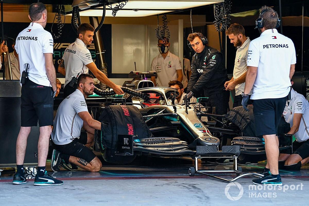 Russell liczy na szansę od Mercedesa