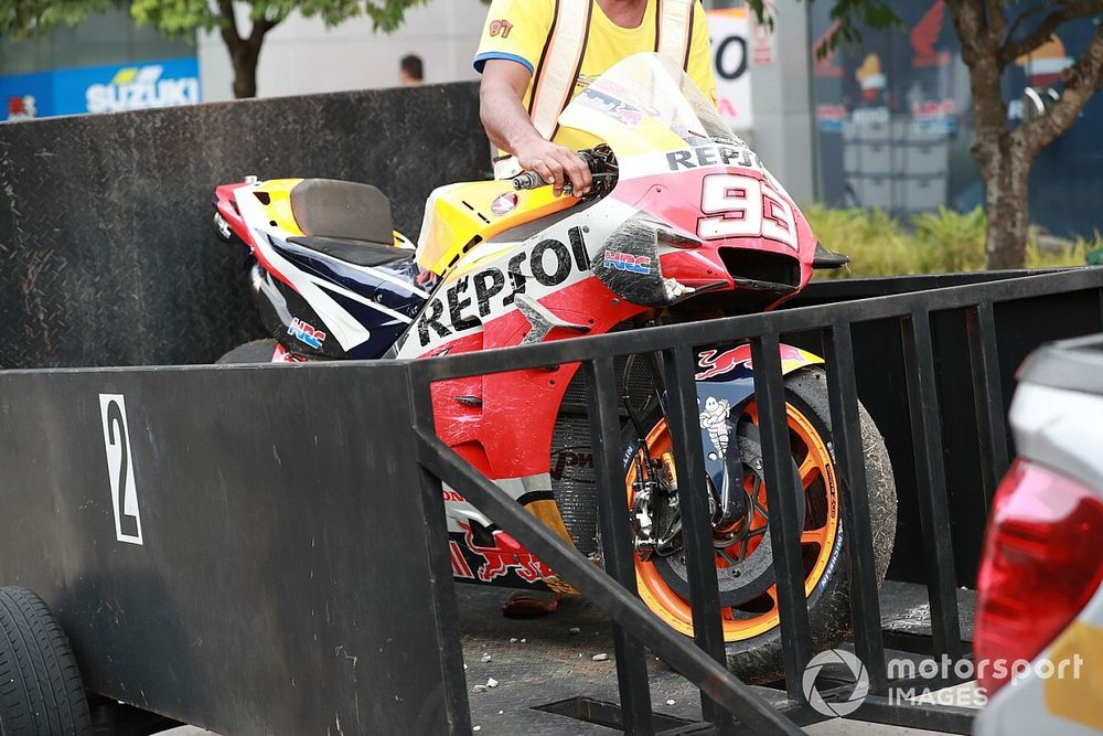 La Honda HRC tocca il fondo senza Marc Marquez