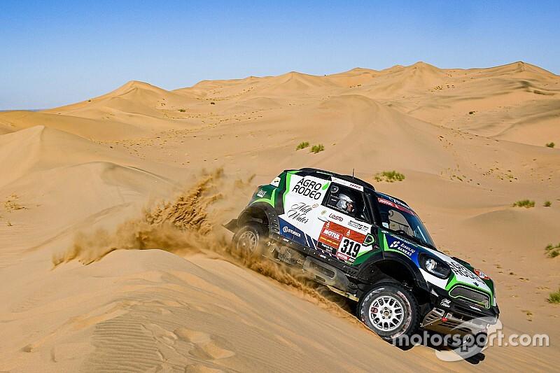 Dakar, Tappa 5: tante dune sulla strada verso Ha'il