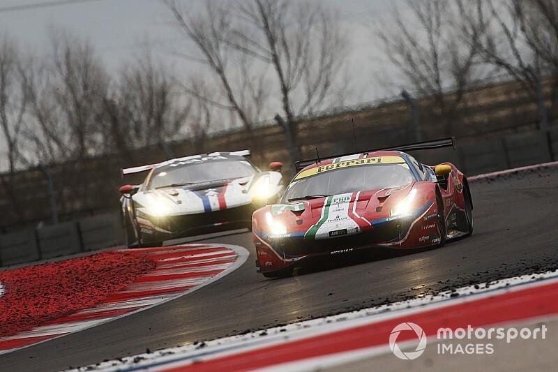 WEC: Ferrari sul podio ad Austin e leadership in classe AM