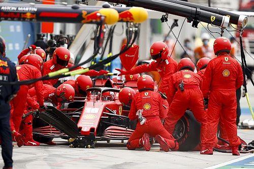 Leclerc reconhece erro da Ferrari na escolha dos pneus na Hungria