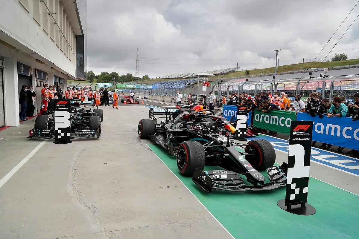 A Mercedes csak mentette a menthetőt Bottasnál, de nem lett meg a második hely