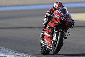 """Petrucci: """"Non riesco a fermare né a girare la moto"""""""