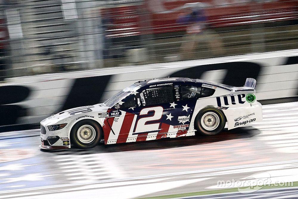 "Keselowski: NASCAR has ""hit gold"" with shorter race format"