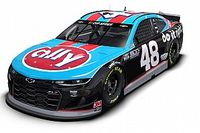 NASCAR: Johnson homenageia Petty e Earnhardt em pintura retrô na prova de Darlington