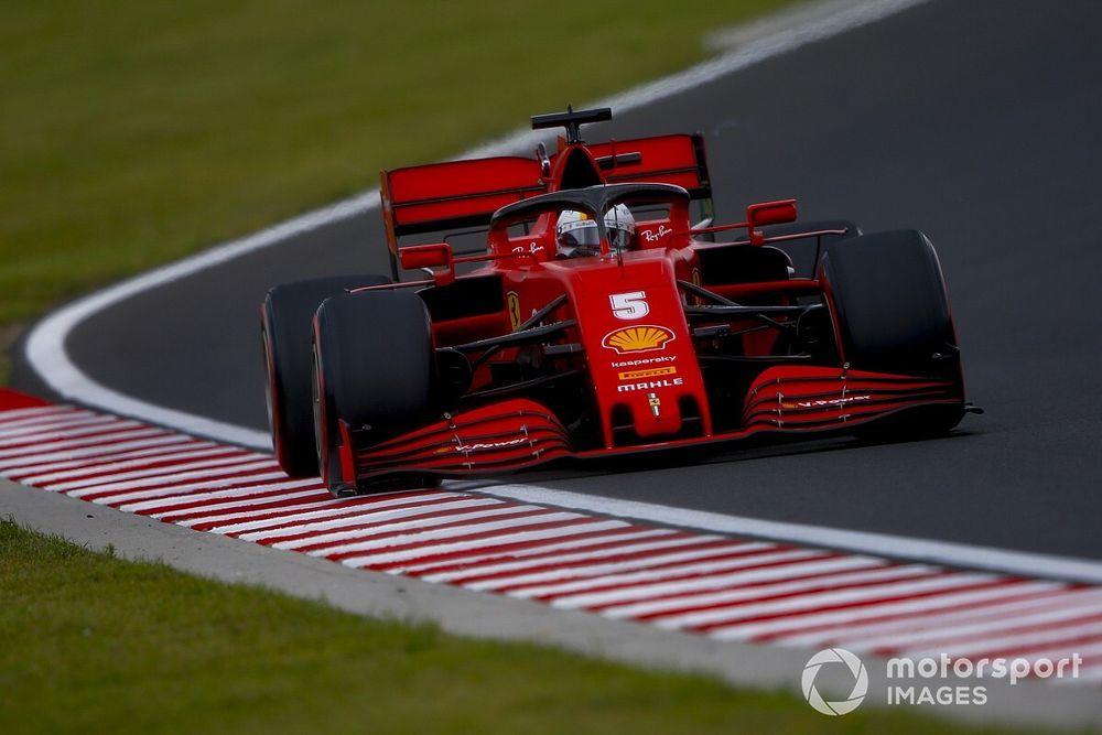 """Vettel, 5e: La Ferrari est """"bien meilleure"""" sur le Hungaroring"""
