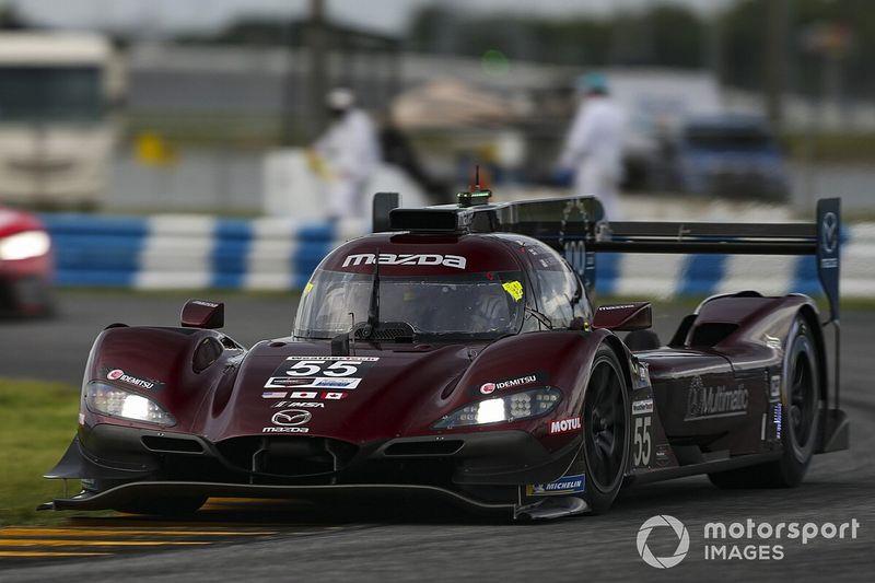 IMSA: Mazda consegue dobradinha em Daytona; Pipo Derani é 5º