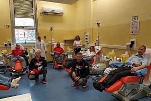 Lo staff del Mugello dona il sangue per l'emergenza Coronavirus