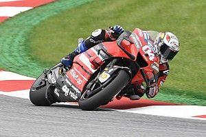 MotoGPオーストリア:転倒続出の展開を離脱決めたドヴィツィオーゾが制す。中上6位入賞