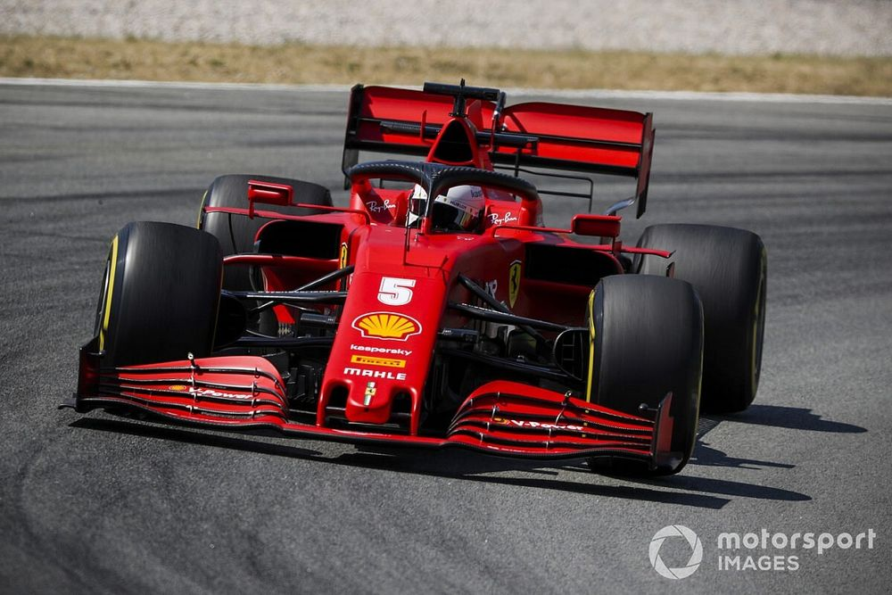 """Vettel dice que su coche ahora """"tiene un poco más de sentido"""""""