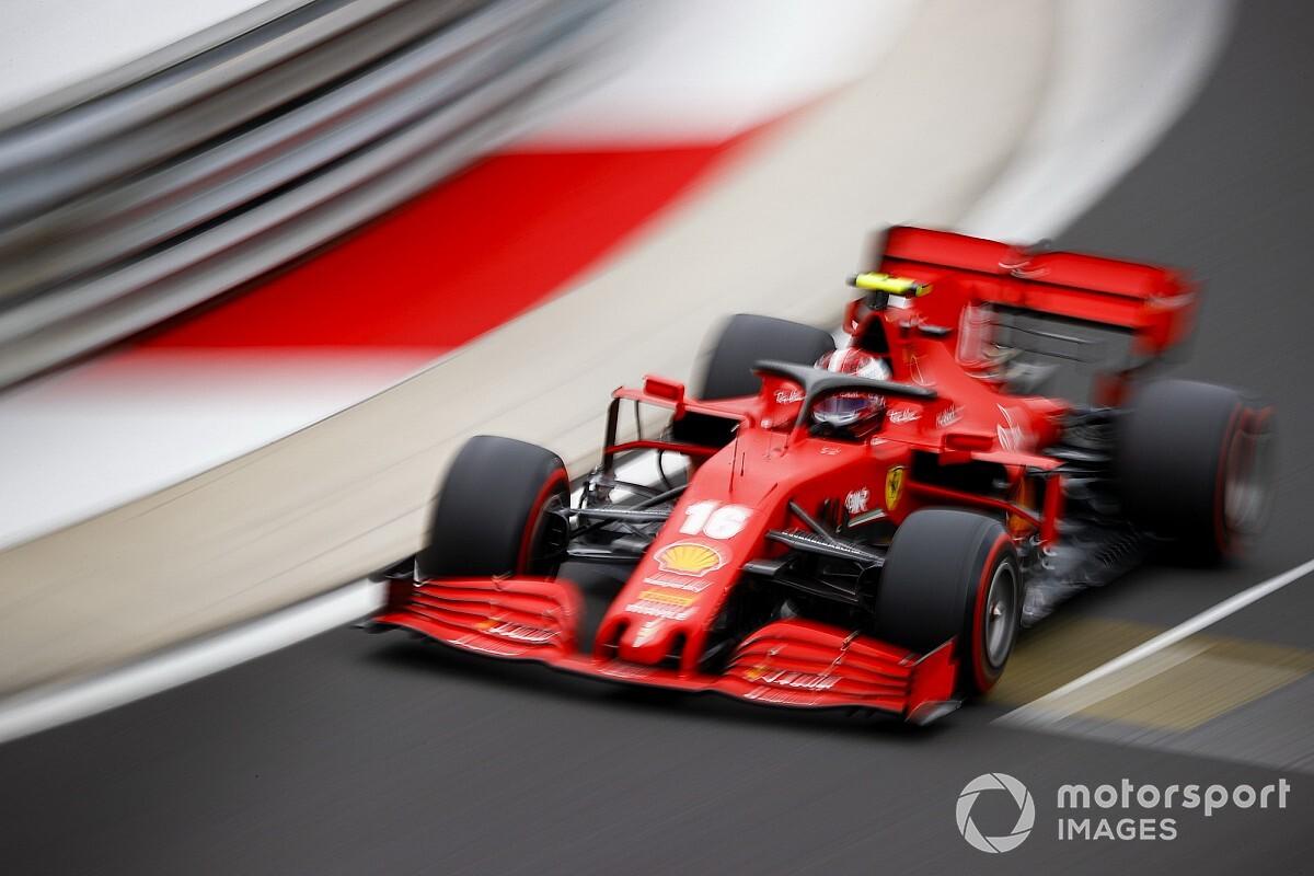 Leclerc ígéri, most nyugodtabb lesz a rajtnál a Ferrarival