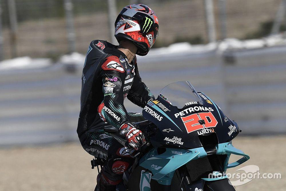 Quartararo 'voa' em Jerez e faz primeira a pole da MotoGP em 2020