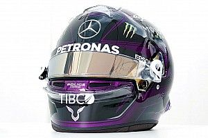 Hamilton revela capacete de 2020 alusivo à luta racial