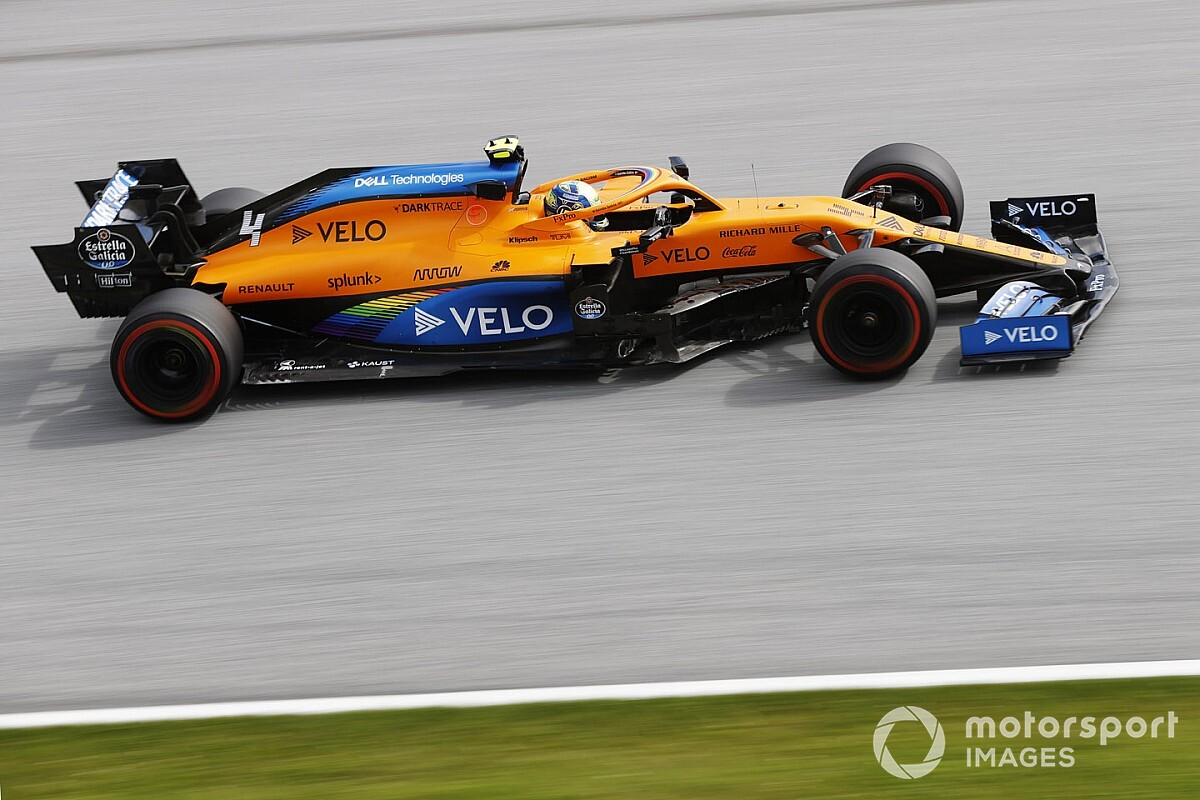 McLaren crée la surprise et se montre au niveau de Racing Point