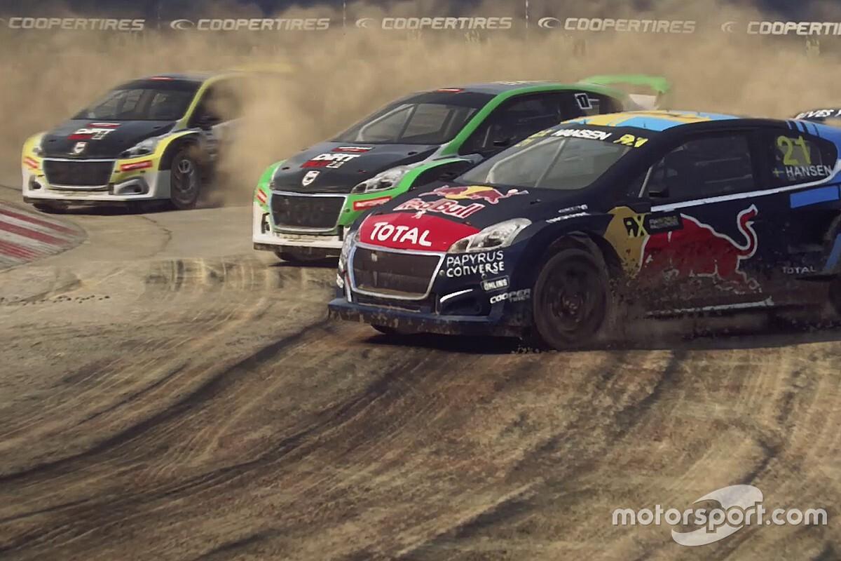 Champion Hansen headlines World RX Esports opener