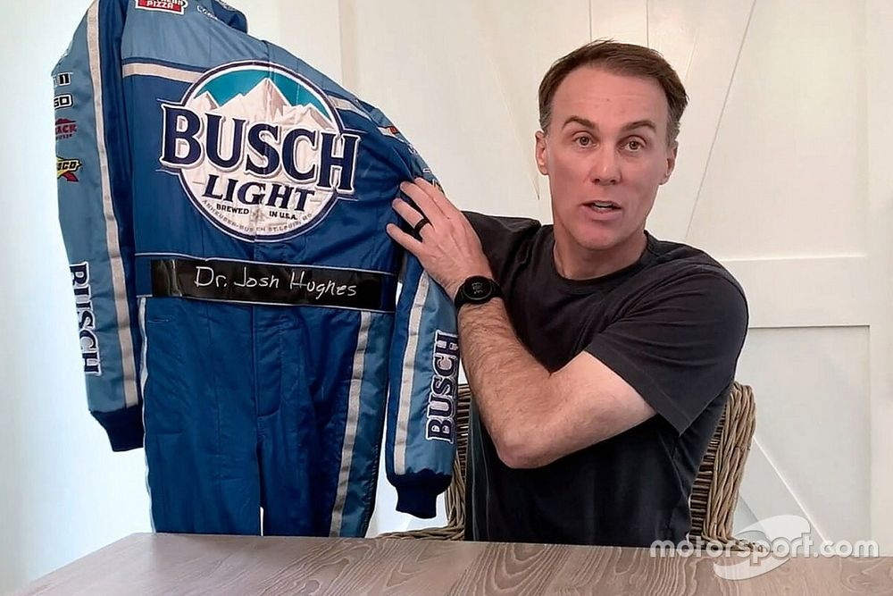 """Busch, Harvick honor healthcare """"heroes"""" in pandemic"""