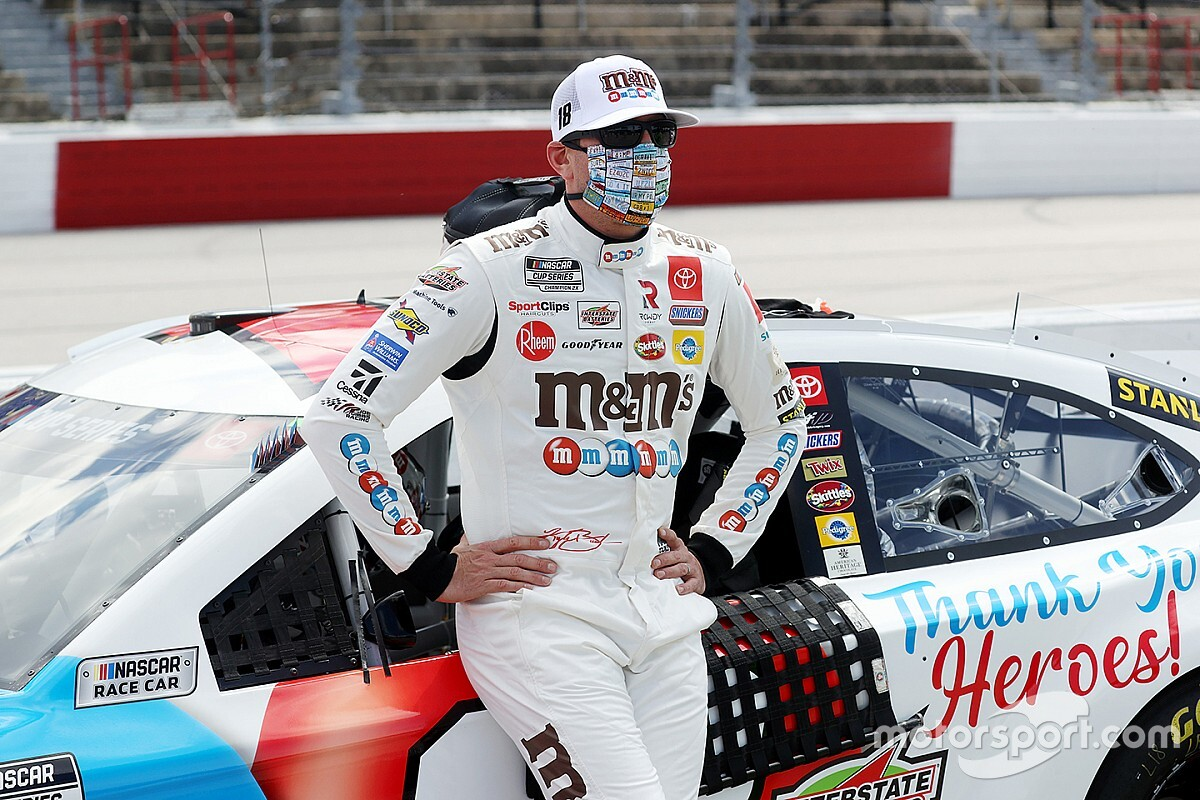 "Kyle Busch turns Chase Elliott, admits ""I made a mistake"""