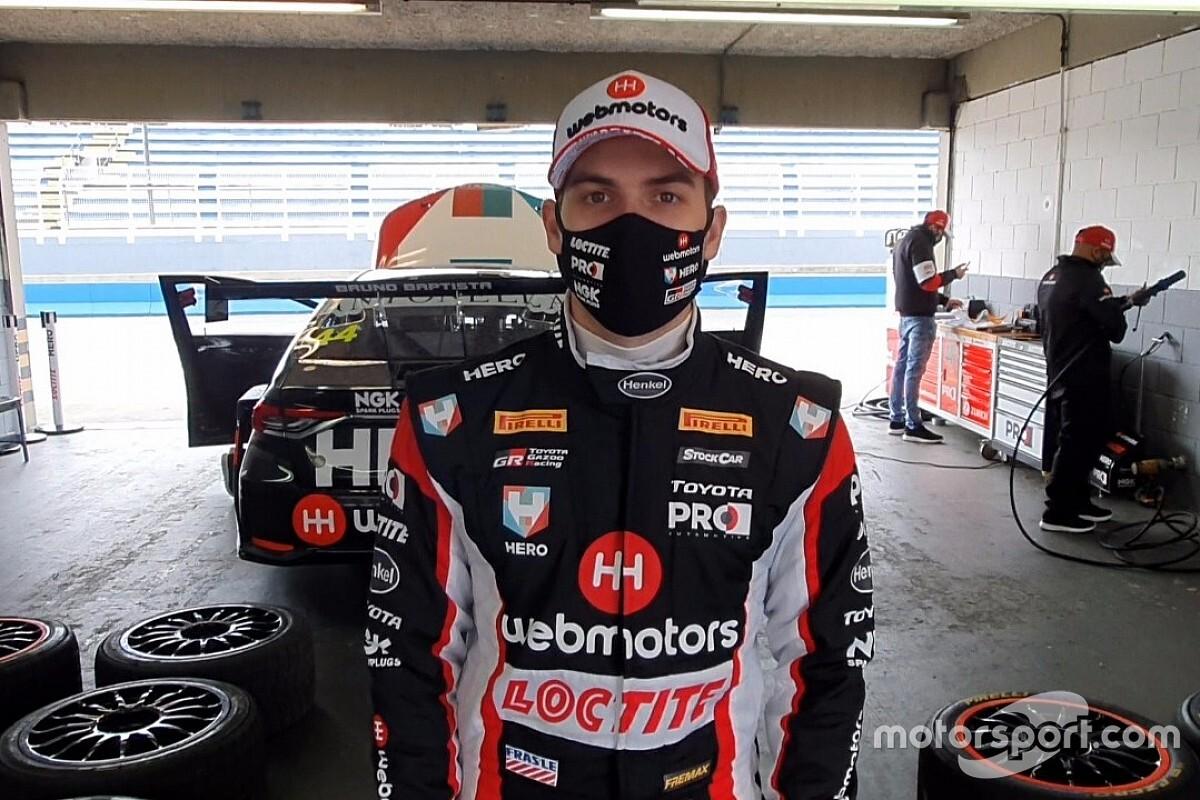 Bruno Baptista diz que novo carro da Stock Car tem menos downforce e é mais barulhento