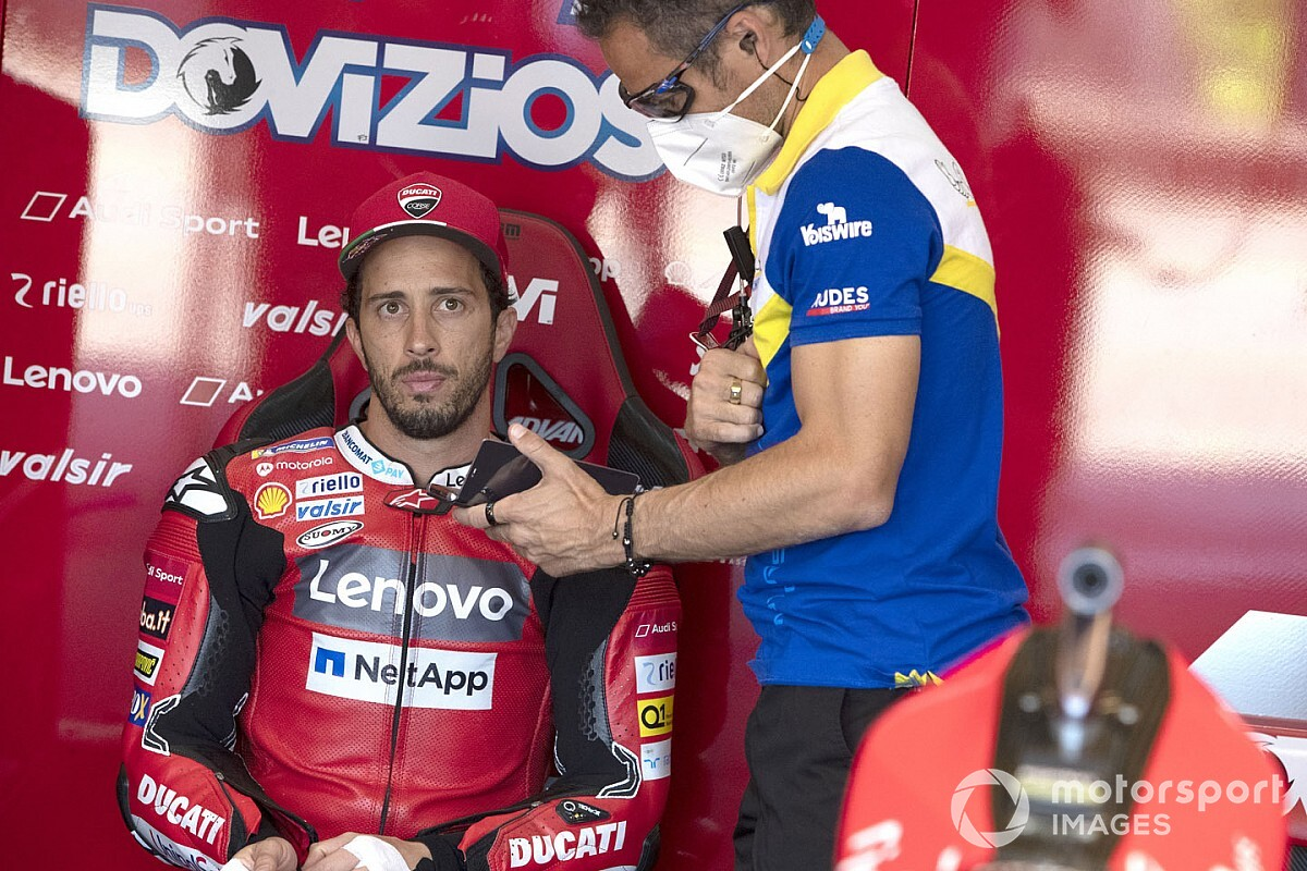 """Pas d'explication pour un Dovizioso """"inquiet"""" après sa pire qualification"""
