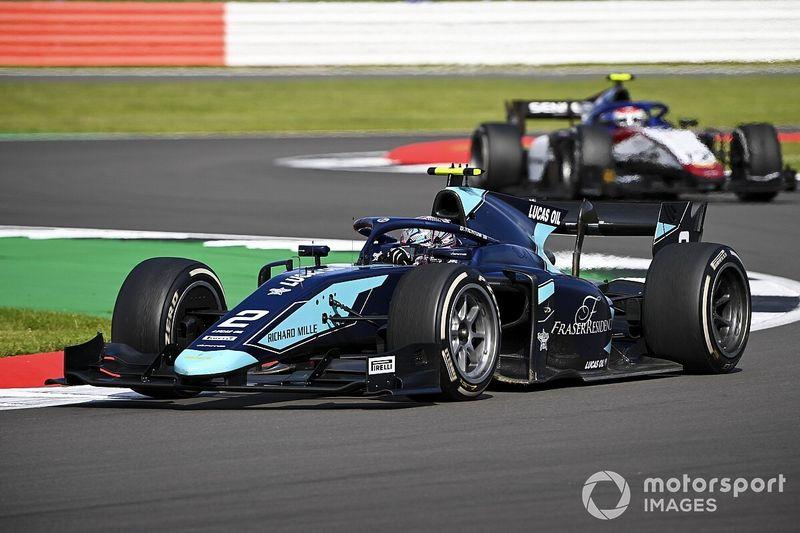 Silverstone F2: Ticktum se lleva el duelo con Lundgaard