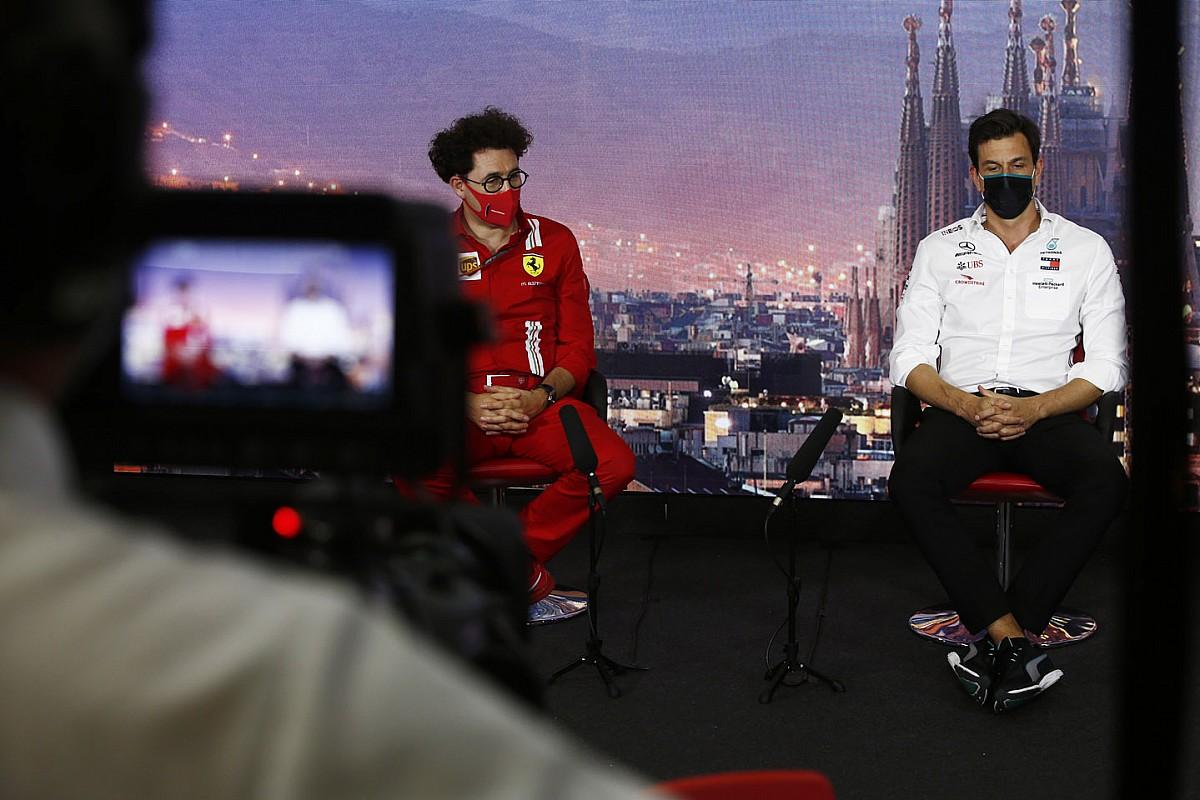 "Binotto responde a Wolff: ""Yo también soy fan de Ferrari"""