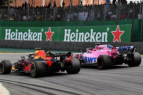 Gallery: Verstappen vs Ocon clash in pictures