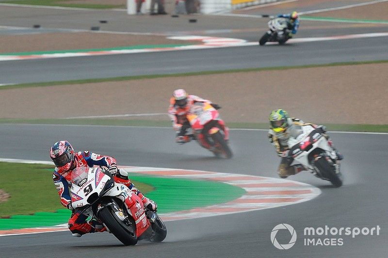 Petrucci lidera la tercera práctica y las Yamaha irán a la Q1