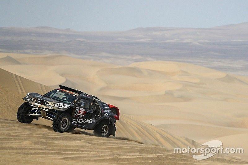 """""""Son las dunas más grandes que he visto en cuatro Dakar"""""""