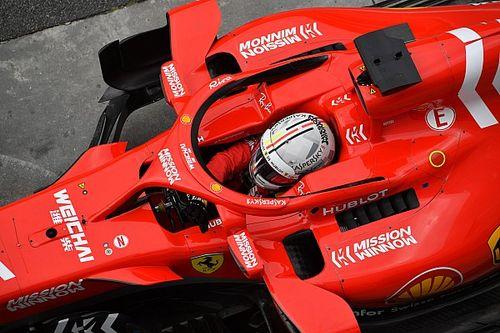 """Vettel: """"Perdi a pole por um erro meu"""""""